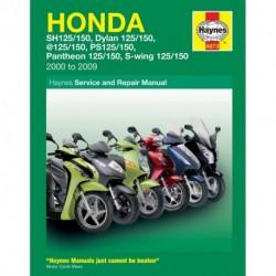 Honda 125 Scooters (SH SES NES PES & FES 125) 2000 - 2009