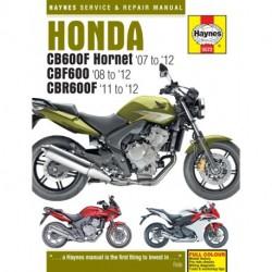 Honda CB600 Hornet CBF600 & CBR600F 2007 - 2012