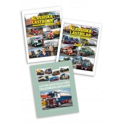 Bokpaket - Böckerna Klassiska Lastbilar