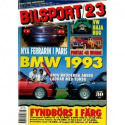 Bilsport nr 23  1992