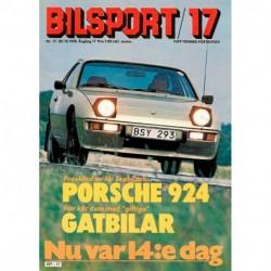 Bilsport nr 17  1978