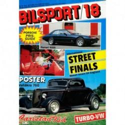 Bilsport nr 18  1984