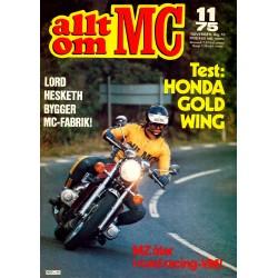Allt om MC nr 11  1975