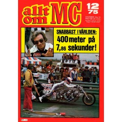 Allt om MC nr 12  1975