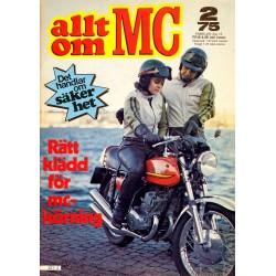 Allt om MC nr 2  1975