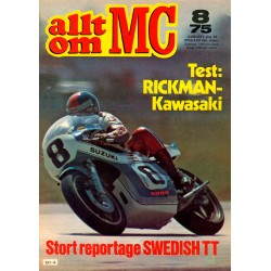 Allt om MC nr 8  1975
