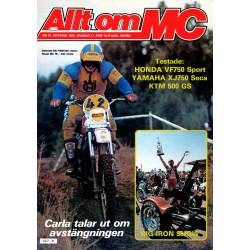 Allt om MC nr 10  1982