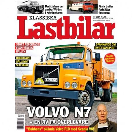 Klassiska Lastbilar nr 3 2014